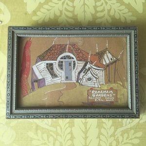 Antique Mini Watercolor Painting